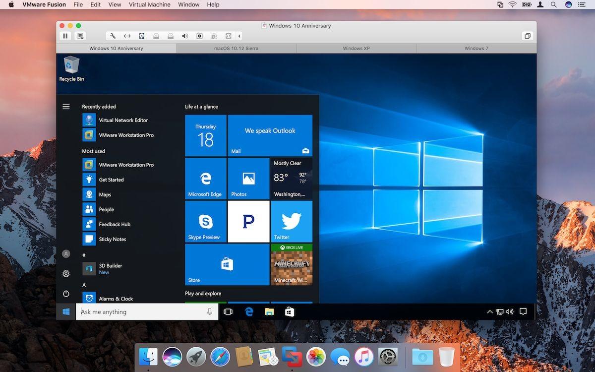 分享一个Mac上虚拟机VMware Fusion 10的可用序列号