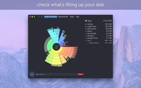 DaisyDisk v4.7.2.1 可视化的磁盘清理工具