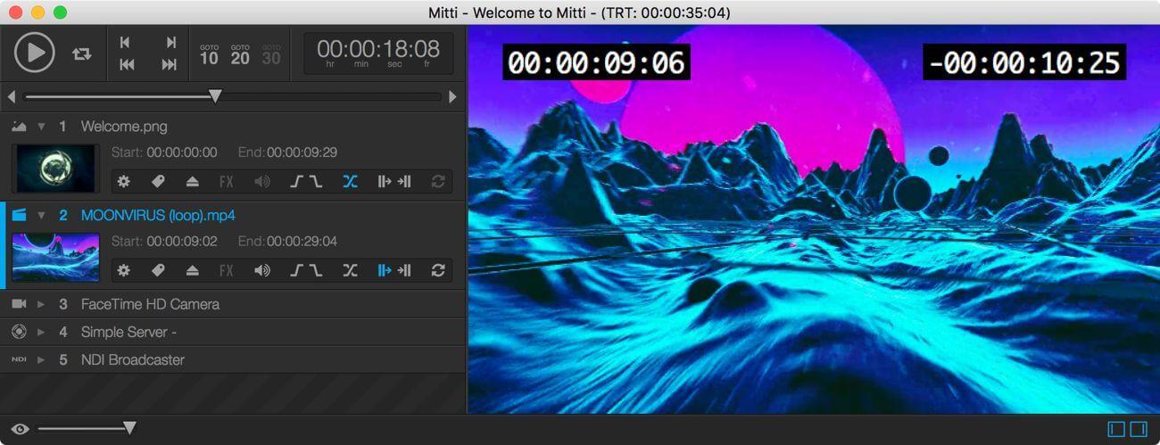Mitti v1.5.4 功能强大且易于使用的专业视频回放解决方案
