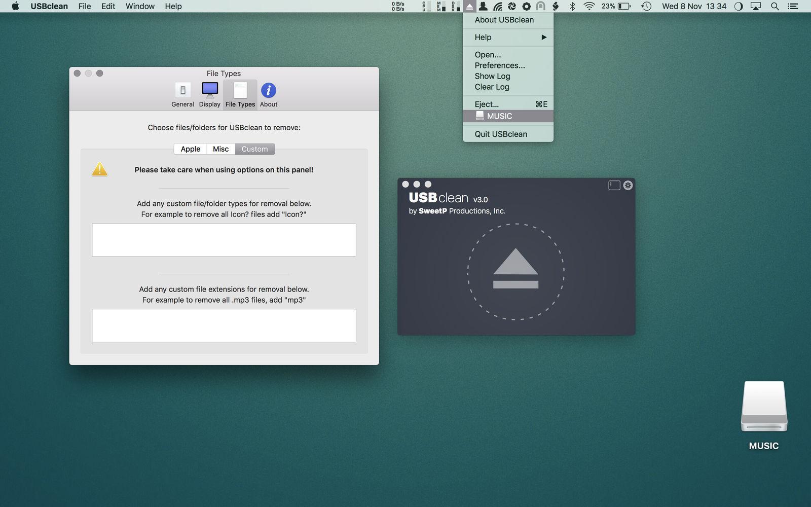 USBclean v3.4.2 U盘杀毒工具