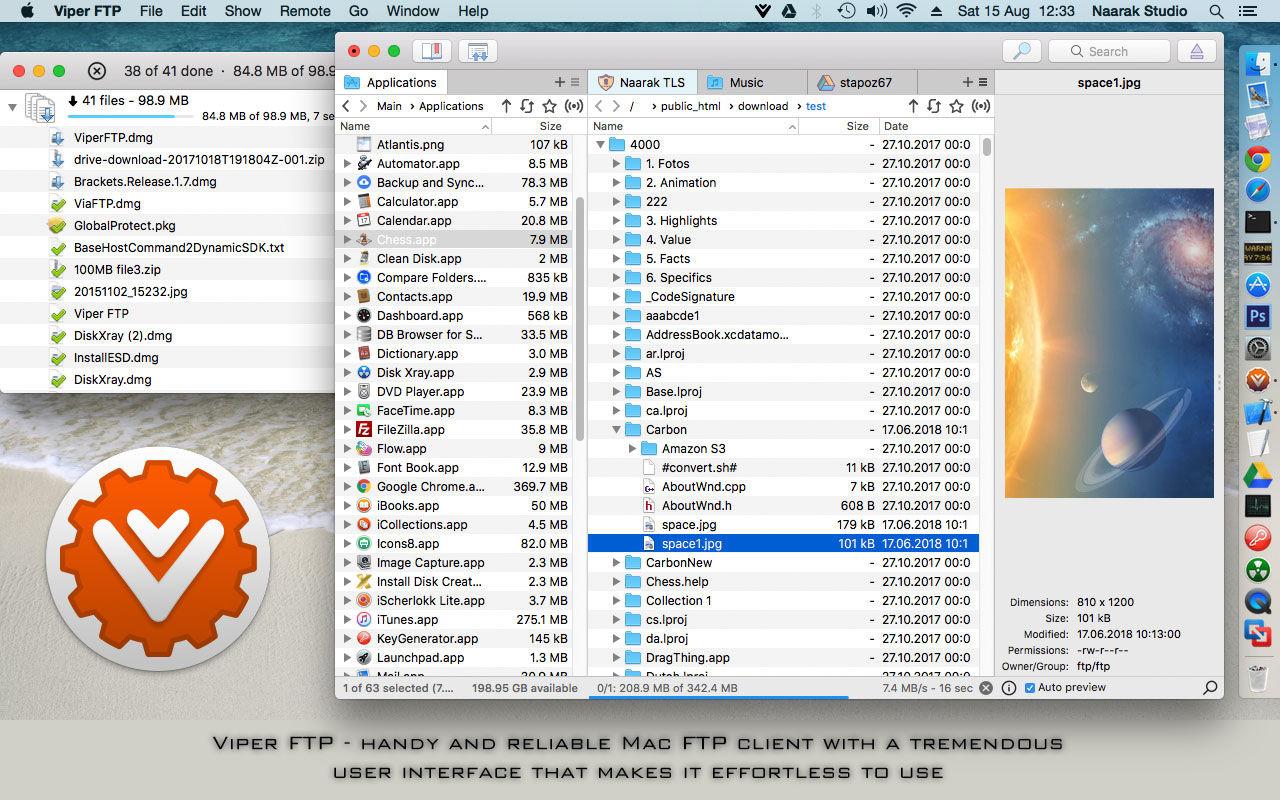 Viper FTP v5.2.6 一个简单、友好且功能强大的FTP客户端